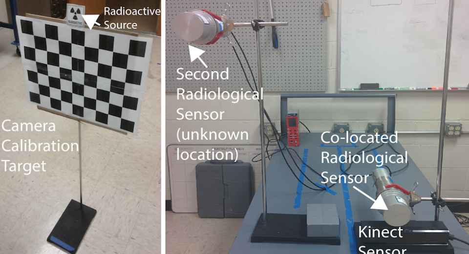 3D Vision and Radiological Sensor Fusion
